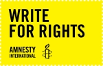 Write for Rights 2014 stamp